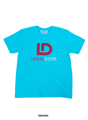 BT- Legal Dope Teal Tee [L] R10