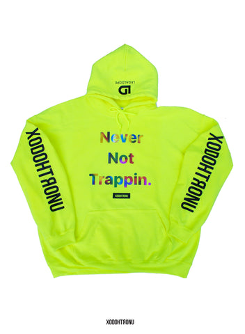 BT- NNT Neon Rainbow Hoodie [2X (& all sizes)] R10