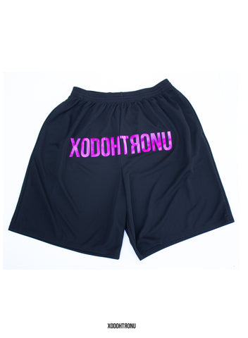 BT- Front Stamped Purple Shorts [small] R2