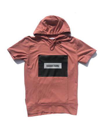 BT- Salmon 3M back pocket hoodie [Medium] R14
