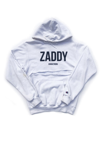 BT- ZADDY White James Crop Hoodie [Small] R14
