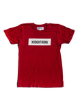BT- Red Front Stamped Tee [Small] R14