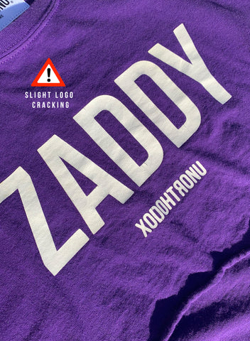 BT- Zaddy James Crop Purple - [Medium] R14