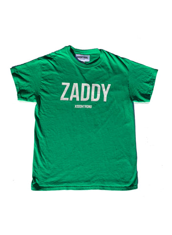 BT- Zaddy Green Tee - [Medium] R14