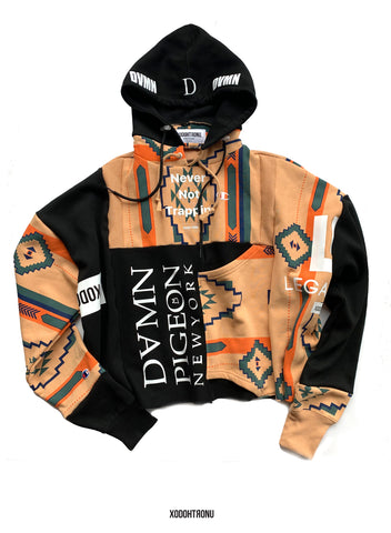 NNT x Dvmn Patchwork Hoodie 1 of 1 (Fits Med/Small) [ULTRA RARE]