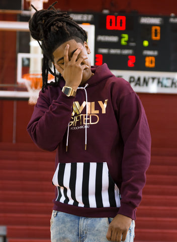 Heavily Gifted Official Hoodie - Maroon [Rare]  [Vault]
