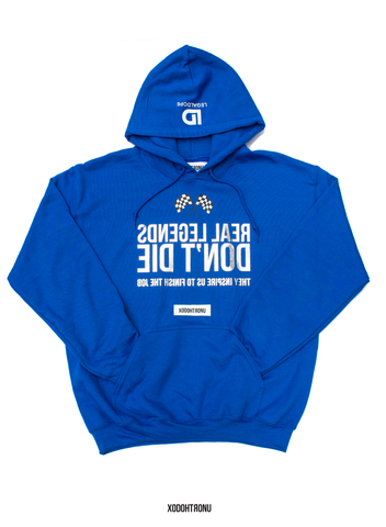 The Legends Hoodie ft. Champion- Blue (Chrome Logos!) [VAULT]