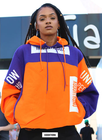 *NEW* Patchwork Hoodie- Clemson 1 of 1 [ULTRA RARE]