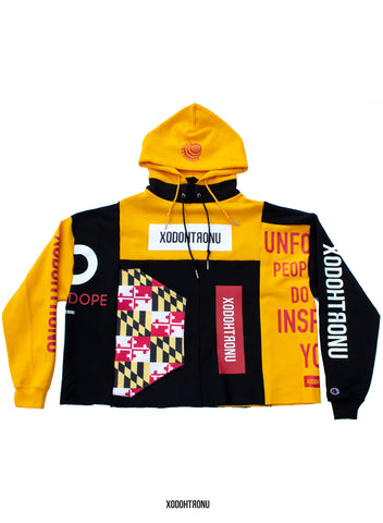 Lindz Maryland Patchwork Hoodie ft @heyylindsayyy [ULTRA RARE] (only 4) [VAULT]