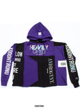 Purple passion patchwork Hoodie [ULTRA RARE] (only 4) [VAULT]