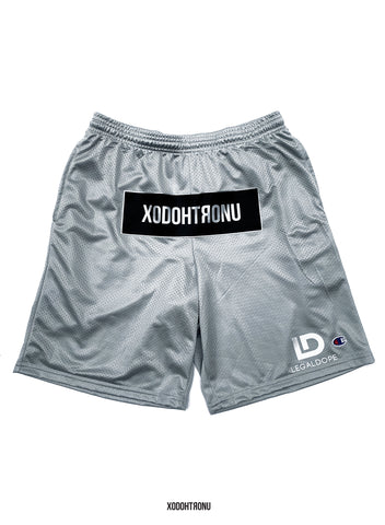 3M Reflective Front Stamped Shorts ft. Champion- Grey [VAULT]