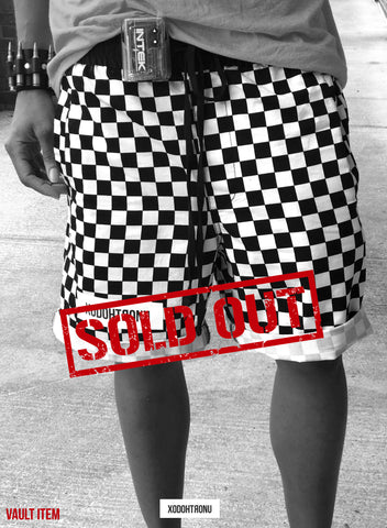 Checker Aesthetics Shorts- Elite Vip Member Group Gift <3 [VAULT]