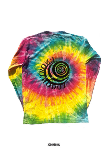 XODOHTRONU The Logos Long Tie Dye Sleeve Tee  [VAULT]