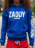 *New* Mashup Logo Hoodie Blue (Glow In the dark logos) [RARE]