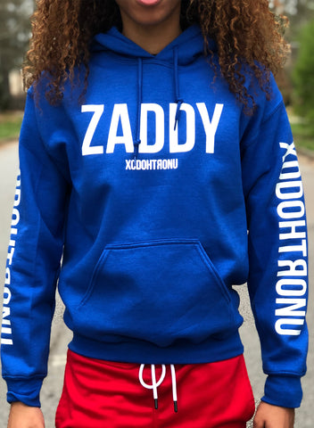 Mashup Logo Hoodie Blue (Glow In the dark logos) [RARE]