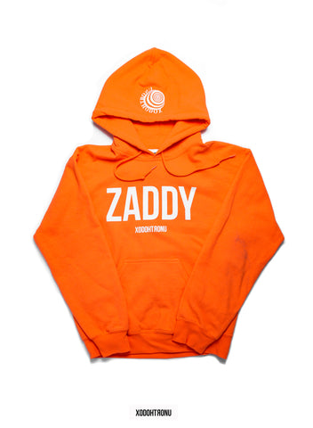 BT- Zaddy Mashup Neon orange Hoodie [Small] R8