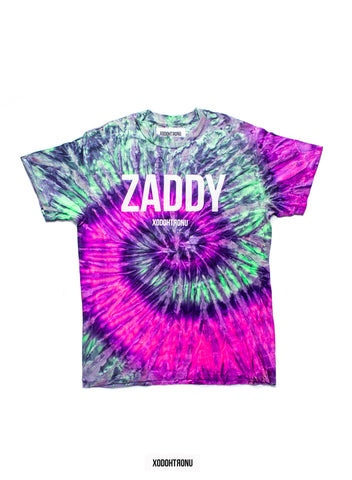 BT- Zaddy Tie Dye Tee Sweet Heat Edition (Med) R9