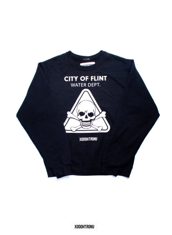BT- Flint Water Dept Crewneck Sweater (Small) R9