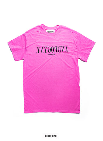 BT- Androgyny tee pink [small] R9