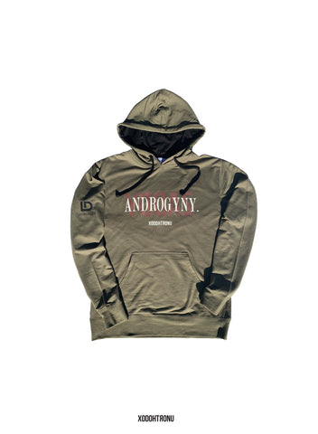 Androgyny YDDAZ Olive French Terry Hoodie
