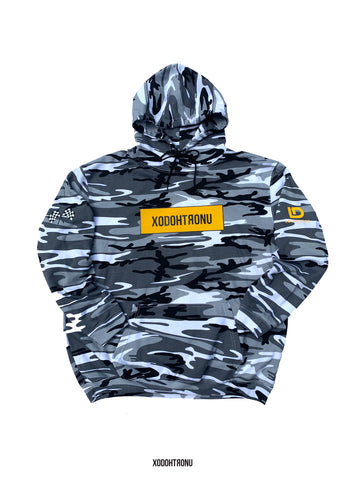 BT- 3M Mono Camo Highest Act Hoodie [XL] R13