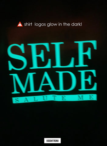 BT- Neon Glow in the dark Self Made Tee [Medium] R13