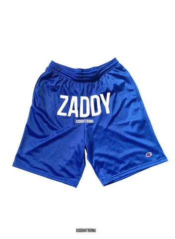 BT- Zaddy Shorts Royal ft. Champion (modified) ULTRARARE [Small] R13