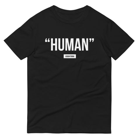 "XODOHTRONU ""Labels"" Collection- ""Human"" Tee Regular 2020 colors [ESSENTIALS]**"