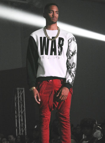 W.A.R  (We Are Rebels) Sweatshirt [Rare] [Vault]