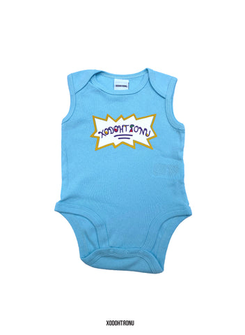 Rugrats Inspired Onesie- Teal [NB-24 month]