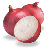 Red Chianti Onion - Hybrid - Allium Cepa - Vegetable - 25 Seeds