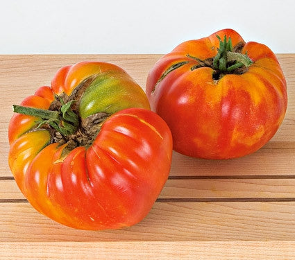 Striped German Tomato - Lycopersicon Esculentum - Heirloom Vegetable - 10 Seeds