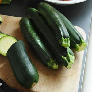 Easy Pick Green Zucchini - Cucurbita pepo - 5 Seeds - The Patio Vegetable Collection