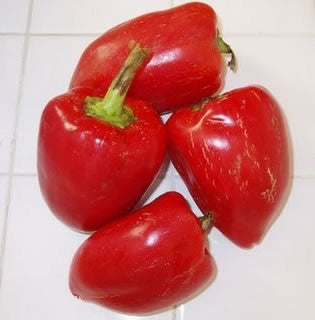 Pimientos Pepper - Capsicum Annuum - 20 Seeds