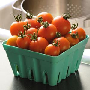 Orange Zinger Tomato - Container Cherry Tomatoes - Lycopersicon Esculentum - 5 Seeds