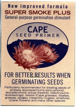 Germination Stimulant - Cape Seed Primer - Super Smoke Plus