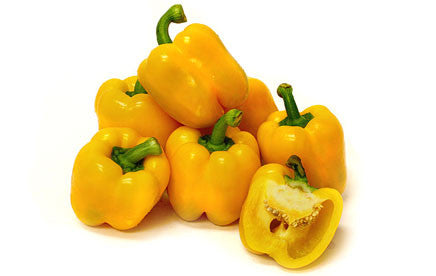 Ballito Sweet Golden Yellow Bell Pepper - Capsicum annuum - 10 Seeds