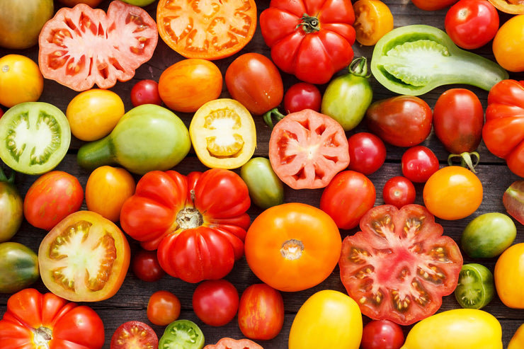 Heirloom Tomato Rainbow Mix - Lycopersicon Esculentum - Vegetables - 10 Seeds - ORGANIC