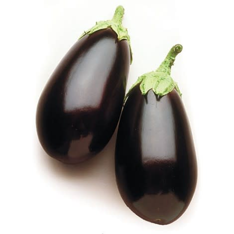 Night Shadow Eggplant - ORGANIC - Heirloom Vegetable - 20 Seeds