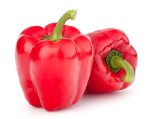 Jumbo Red Sweet Pepper - ORGANIC - Heirloom Vegetable - 5 Seeds