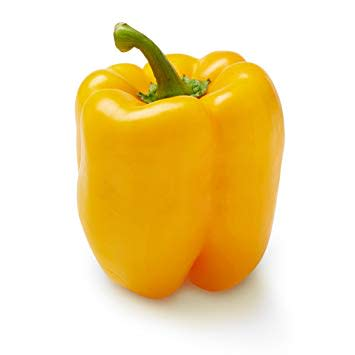 Oro Yellow Sweet Pepper - ORGANIC - Heirloom Vegetable - 5 Seeds