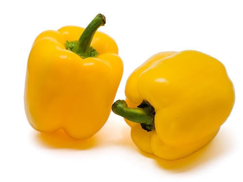 Golden California Wonder Sweet Bell Pepper - Capsicum Annuum - 10 Seeds