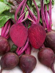 Detroit Dark Red Beetroot - ORGANIC - Heirloom Vegetable - 100 Seeds