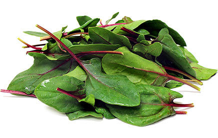 Flamingo Pink Spinach - ORGANIC - Heirloom Vegetable - 25 Seeds