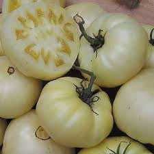 Great White Beefsteak Tomato - Bulk Vegetable Seeds - 200 seeds
