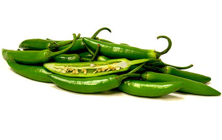 Serrano Chilli Pepper - Bulk Vegetable Seeds - 20 grams