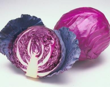 Red Acre Cabbage - ORGANIC - Heirloom Vegetable - 100 Seeds