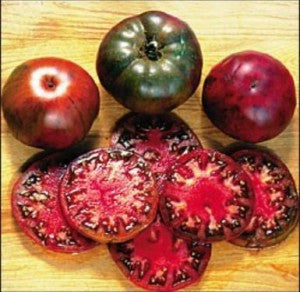 Black Krim Tomato - ORGANIC - Heirloom Vegetable - 10 Seeds