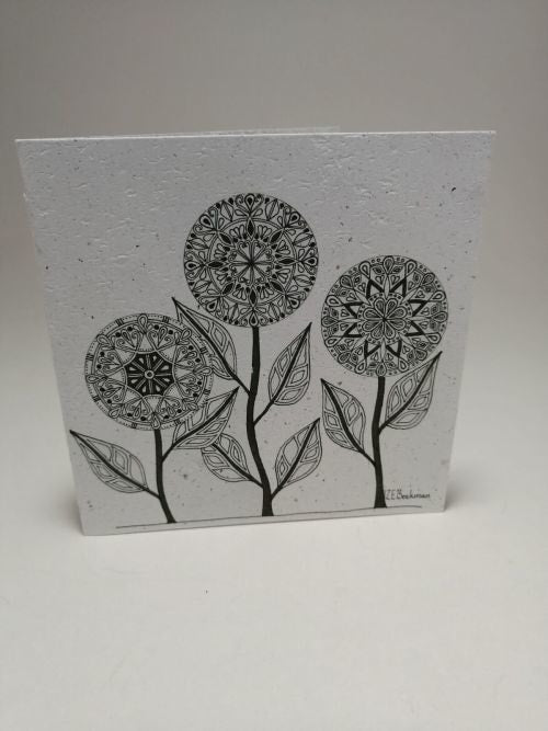 Growing Paper - Greeting Card - Trees