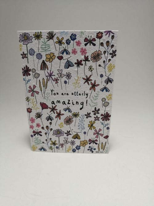 Growing Paper - Greeting Card - Amazing